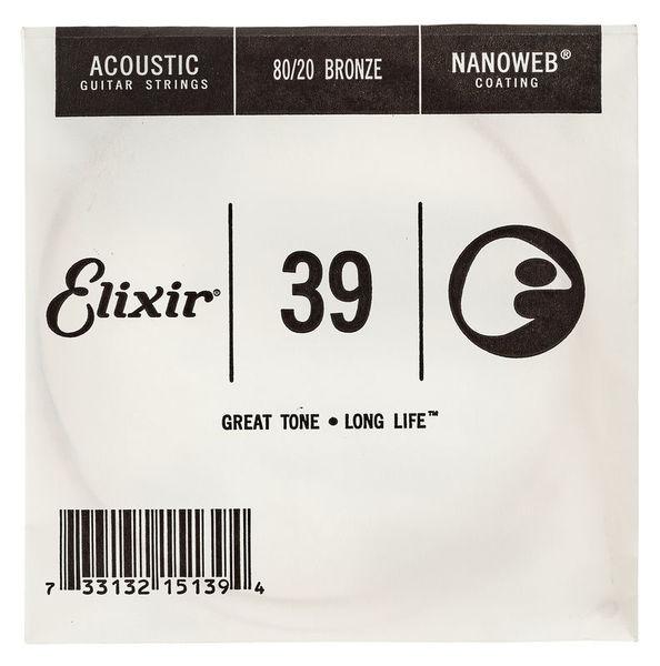 Elixir .039 Western Guitar