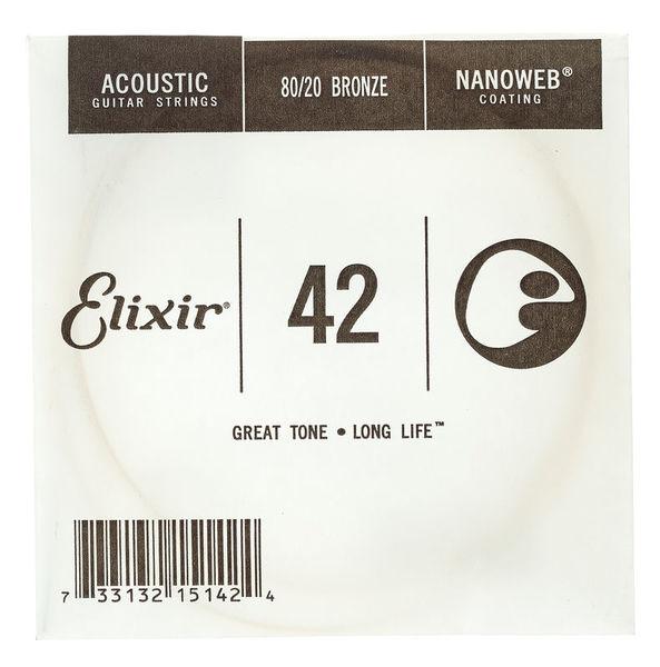 Elixir .042 Western Guitar