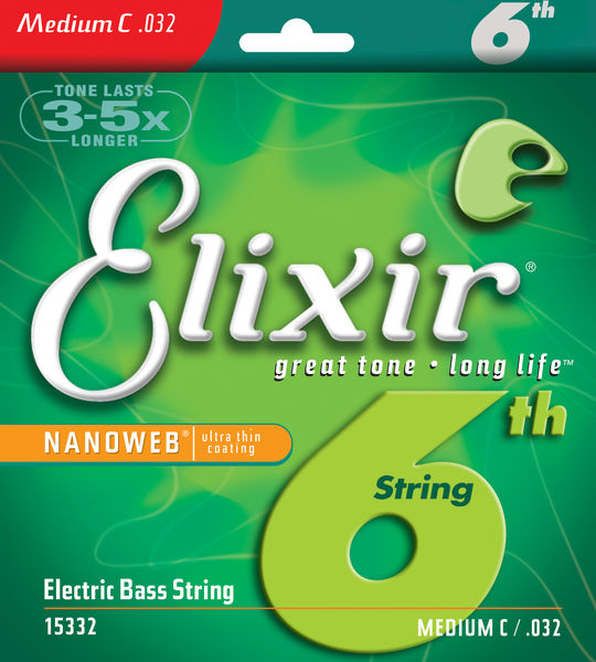 Elixir .032 Electric Bass String