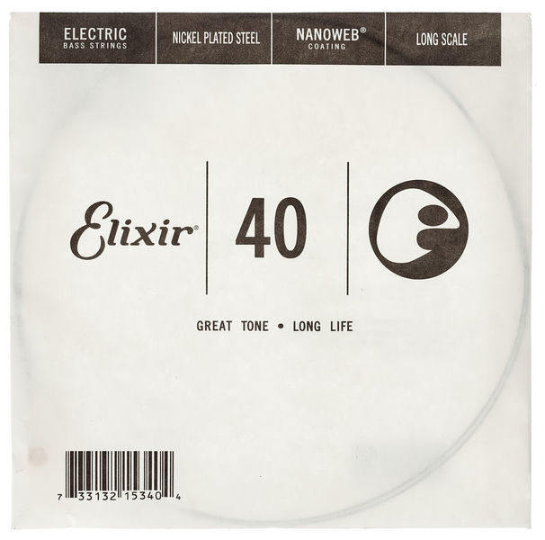 Elixir .040 El. Bass Single String