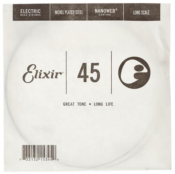 Elixir .045 El. Bass Single String