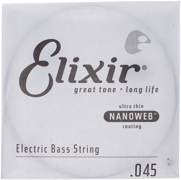Elixir .045 El. Bass Single String