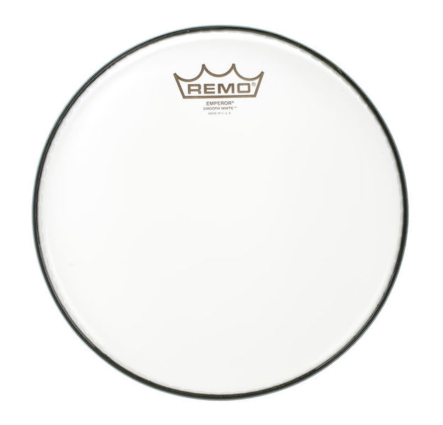 "Remo 10"" Emperor White Smooth"