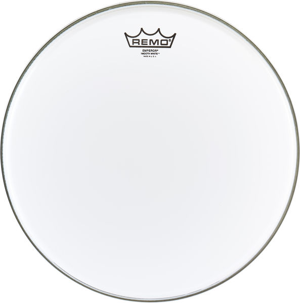 "Remo 14"" Emperor White smooth"