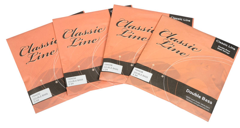 Classic Line Double Bass Strings 3/4