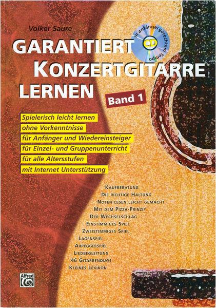 Alfred Music Publishing Garantiert Konzertgit. Lernen