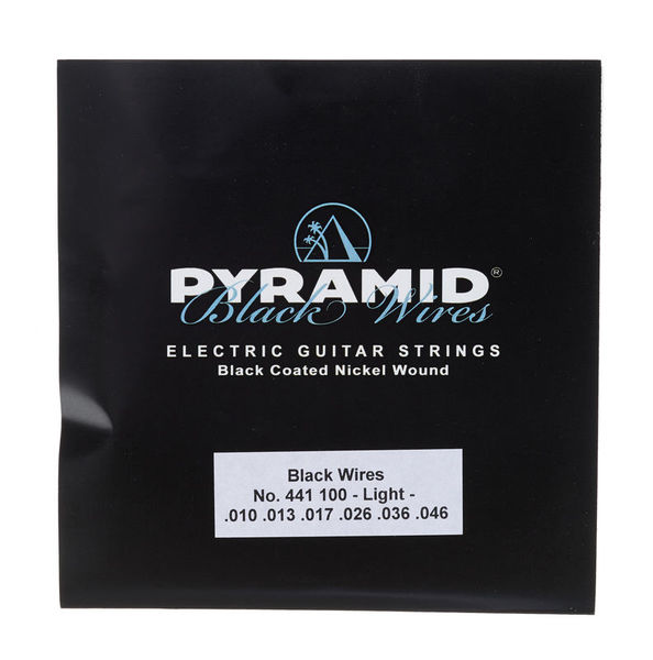 Pyramid Black Wires 010-46