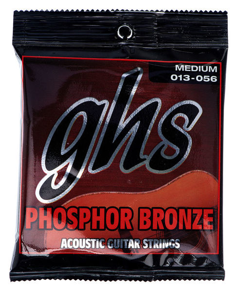 GHS S335 Phosphor Bronze Medium
