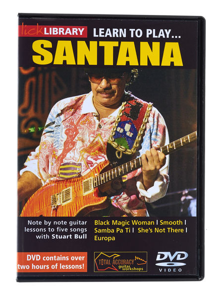 Music Sales Learn to Play Santana