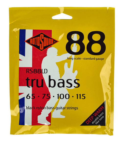 Rotosound RS88LD Black Nylon