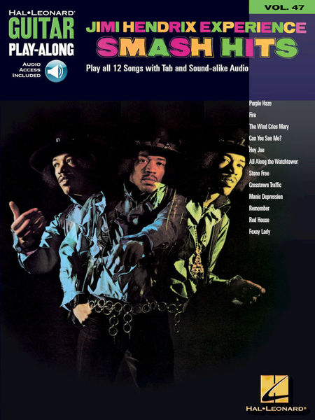 Guitar Play-Along Jimi Hendrix Hal Leonard