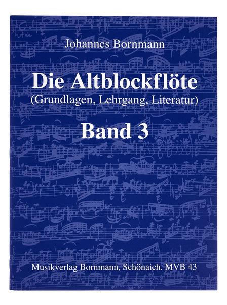 Johannes Bornmann Die Altblockflöte 3