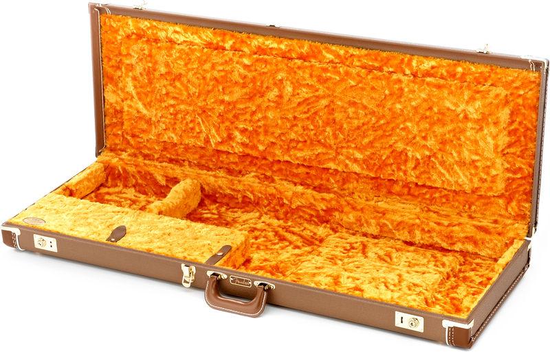 Fender C&G Dlx Jazz/Jaguar Case BR