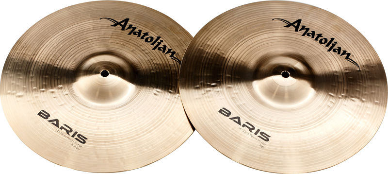 "Anatolian 14"" Hi-Hat Power Baris Series"