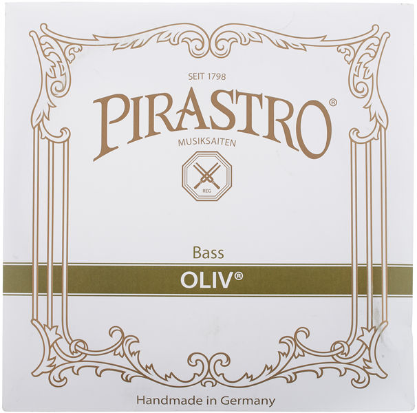 Pirastro Oliv D Double Bass 4/4-3/4