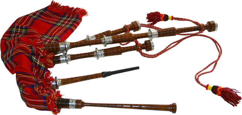 Thomann Mc Big Bagpipe Rosewood