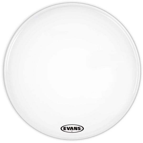 "Evans 26"" MX1 Bass Drum Head (White)"
