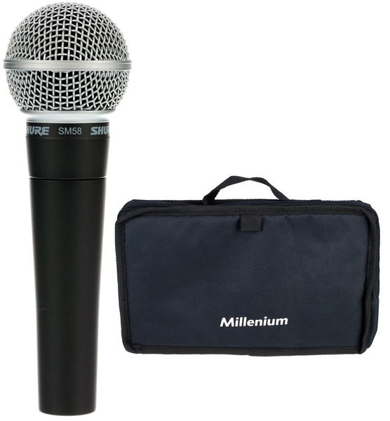 Shure SM58 LC Bag Bundle