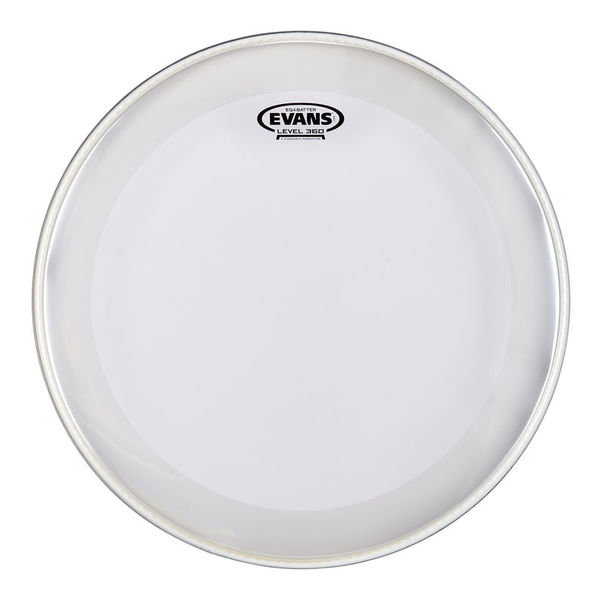 "Evans 18"" EQ4 Clear Bass Drum"