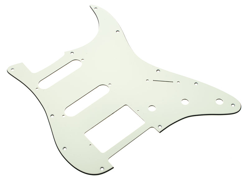 Harley Benton Parts Pickguard HSS 3-ply Mint