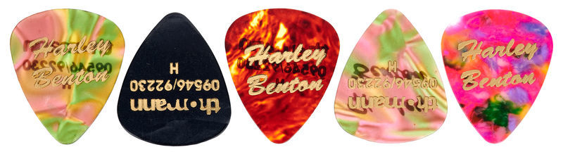Harley Benton Guitar Pick Heavy 5 Pack