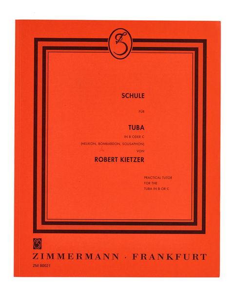 Zimmermann Verlag Kietzer Schule Für Tuba