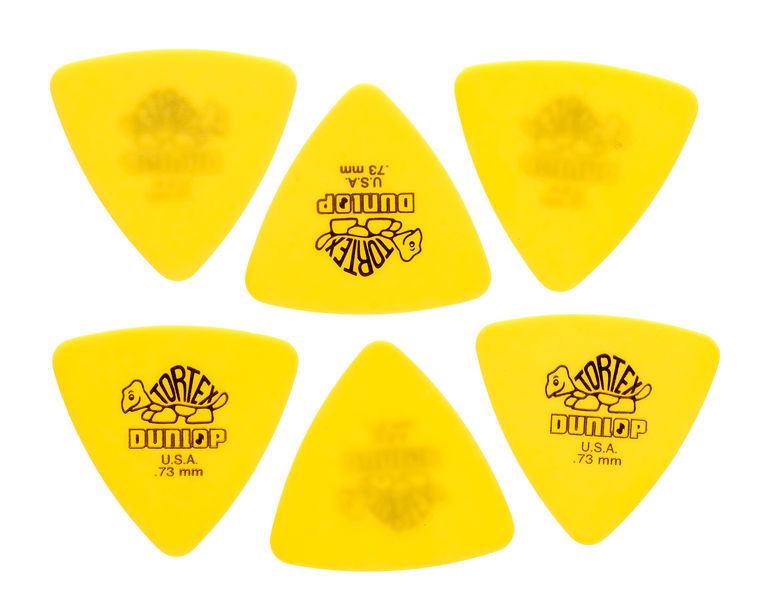 Dunlop Tortex Triangle 0,73 6 Pack