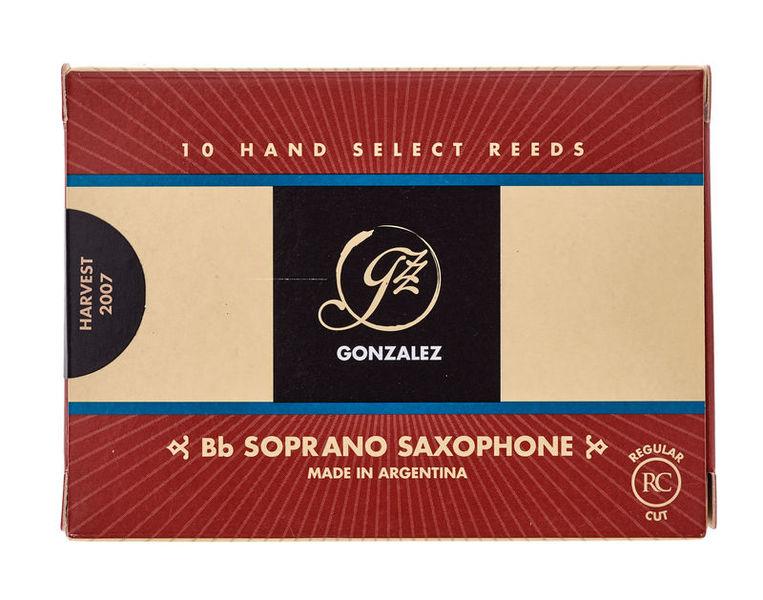 Gonzalez Soprano Sax 2 Reed