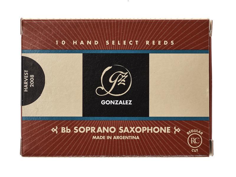 Gonzalez Soprano Sax 2,5 Reed