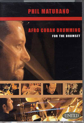 Hudson Music Phil Maturano Afro-Cuban Drumm