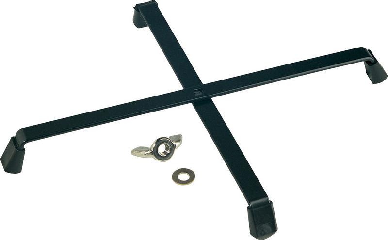K&M 17700S Foldable Base Black