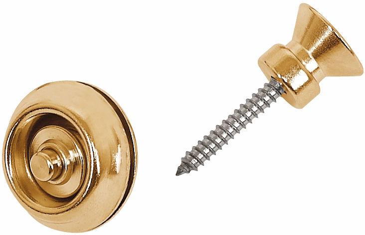 Dunlop Straplok Gold Traditional