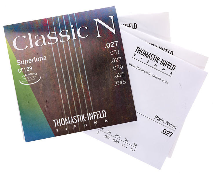 Thomastik CF128 Chrome Steel Flatwound
