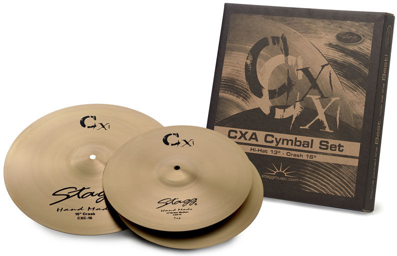 Stagg CXA Cymbal Set Brass Starter