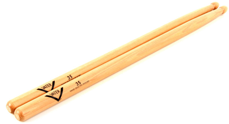 Vater 3SW Drum Sticks Hickory Wood