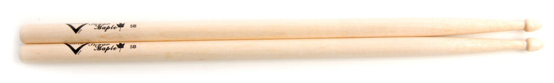 Vater 5B Drum Sticks Sugar Maple