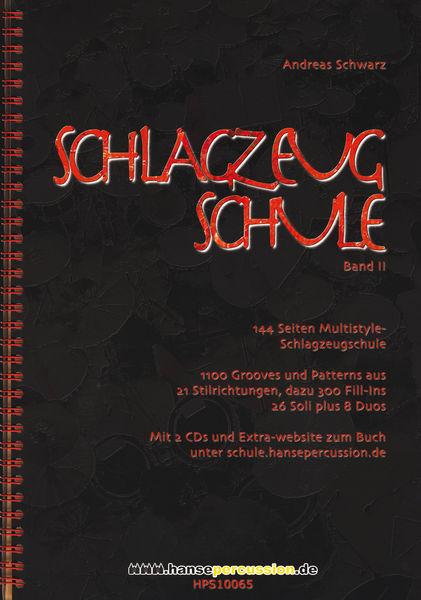 Hansepercussion Schlagzeugschule Bd.2