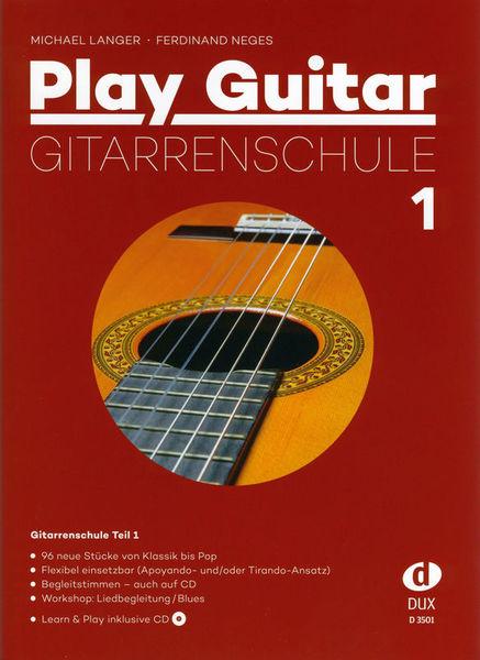 Play Guitar Gitarrenschule 1 Edition Dux