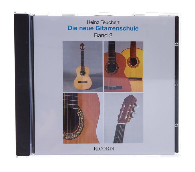 Ricordi H. Teuchert Gitarrenschule CD2