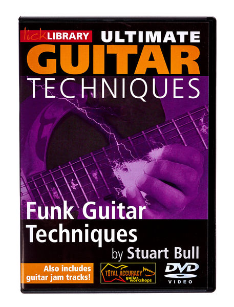 Music Sales Guitar Techniques Funk (DVD)