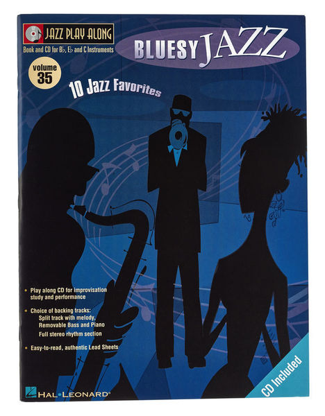 Hal Leonard Jazz Play Along Bluesy Jazz