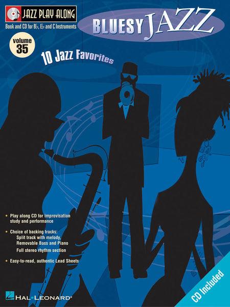 Jazz Play-Along Bluesy Jazz Hal Leonard