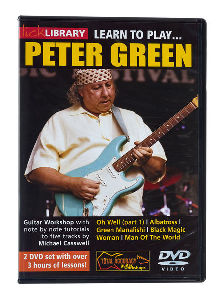 Music Sales Learn to Play Peter Green DVD