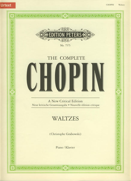 C.F. Peters Complete Chopin Waltzes