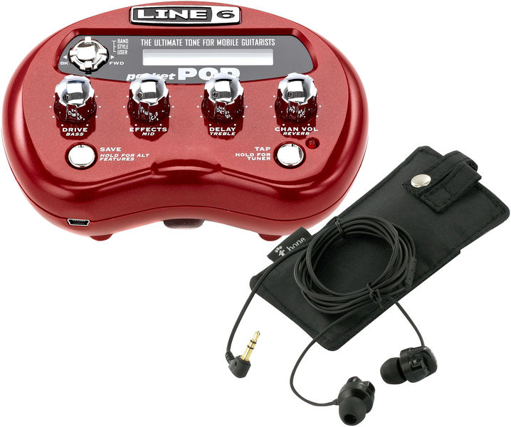 Line6 Pocket Pod Jam-Bundle 2