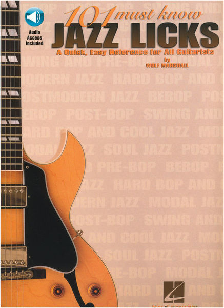 Hal Leonard 101 Must Know Jazz Licks