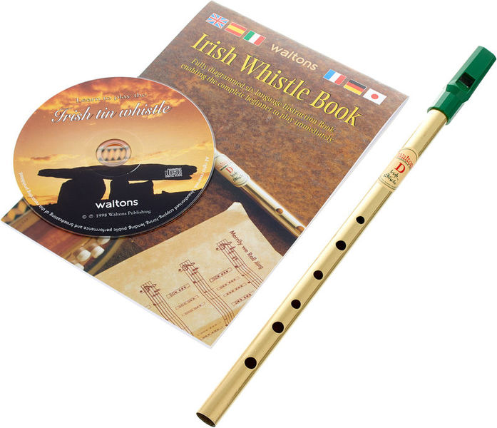 Music Sales Learn To Play Irish Tin Whistl