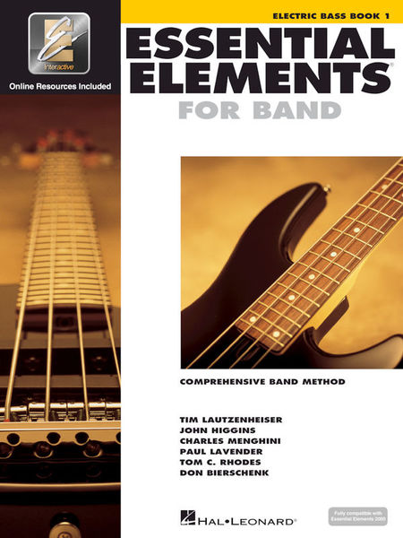 Hal Leonard Essential Elements Band Bass