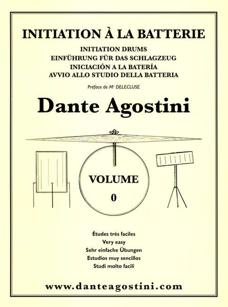 Méthode De Batterie Vol.0 Dante Agostini