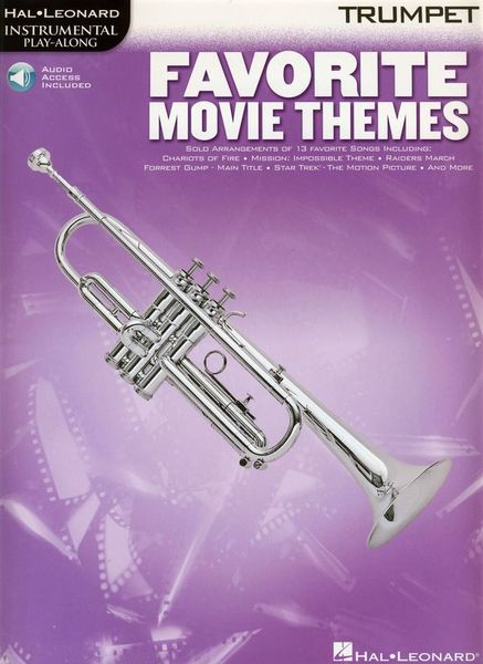 Music Sales Favorite Movie Themes (Trp)